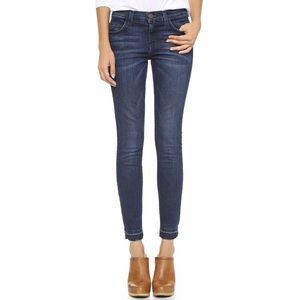 CURRENT/ELLIOTT Stiletto Jeans With Let Down Hem